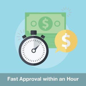 Fast loan with high rate approval