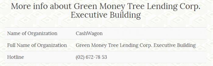 Cash Wagon lender