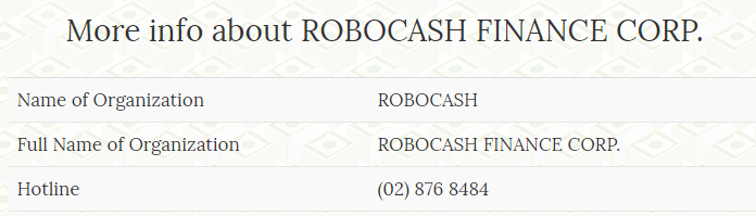 robocash lender