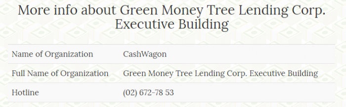 Cash Wagon lender