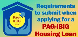 loan Pag-IBIG